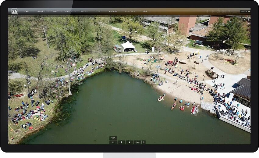 Integrating drones to enhance video surveillance at Southern Illinois University