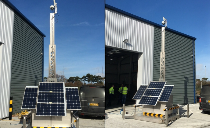 Sunstone IP Systems develops solar powered security for oilfields and remote locations