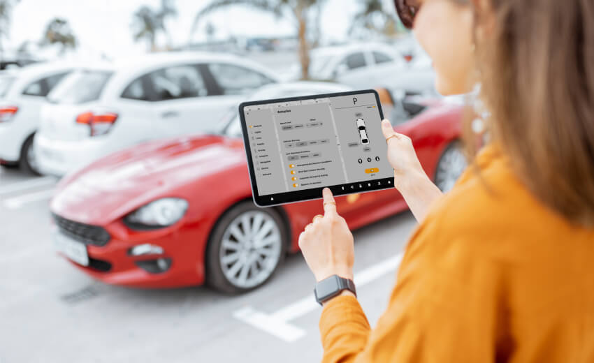 Components that make ideal smart parking solution