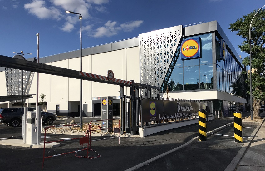 Easing parking stress for Lidl shoppers