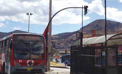Axis transportation security solution for Quito really counts