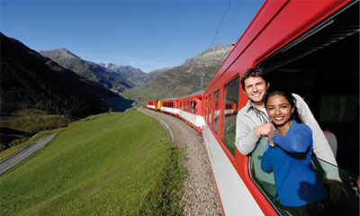 Axis IP cameras provide video monitoring at Matterhorn Gotthard railway
