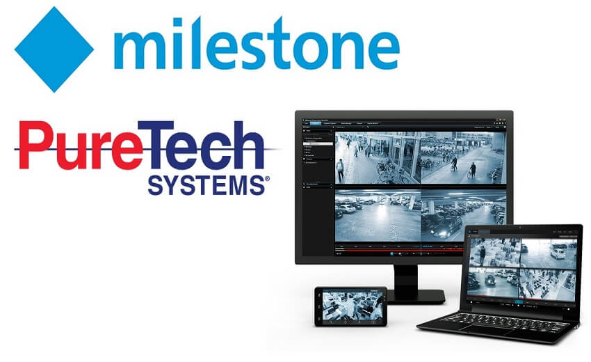 PureTech Systems announces technology partnership with Milestone VMS