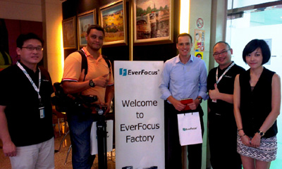 EverFocus promotes Taiwan strengths to Brazilian media