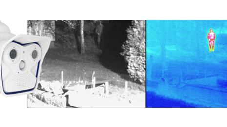 MOBOTIX presents first thermographic camera M15D-Thermal