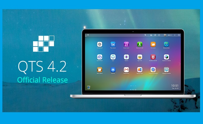 QNAP releases QTS 4.2: empowers business and home life with various features