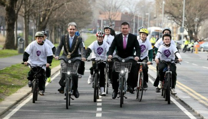 Dublin's cycling route considered part of the city's traffic management