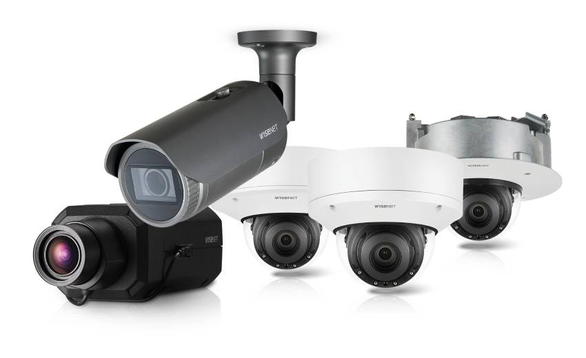 Hanwha Techwin launches Wisenet7 camera equipped with innovative technologies