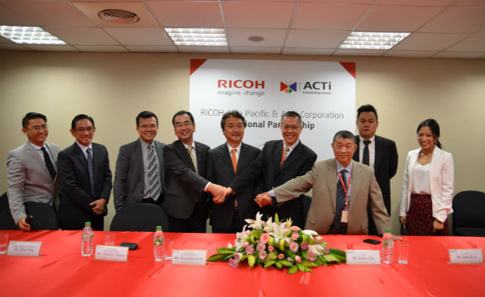 Ricoh Asia Pacific and ACTi form strategic partnership