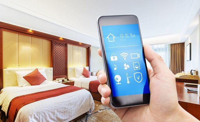 Making the hotel stay more pleasant with IoT