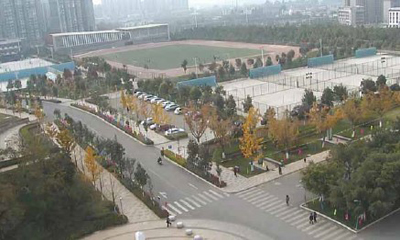 Chinese university campus secured by IP surveillance