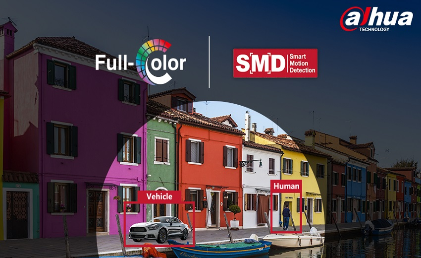 Dahua full-color + SMD enables greater safety and convenience