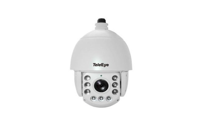 TeleEye releases AHD speed dome camera with 20x optical zoom