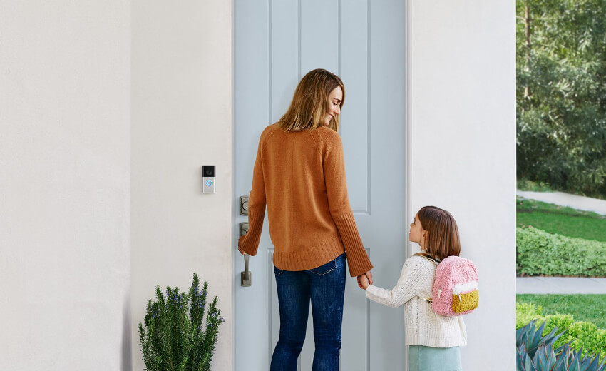Ring introduces next-generation battery-powered video doorbell