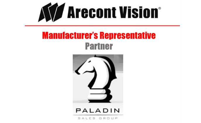 Arecont Vision names Paladin Sales Group as manufacturer's representatives