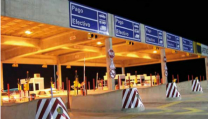 Argentinean highway toll booths operator identifies vehicles with smarts