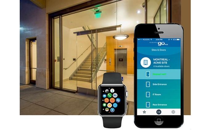 Tyco Security Products debuts EntraPass Go Pass support for Apple Watch