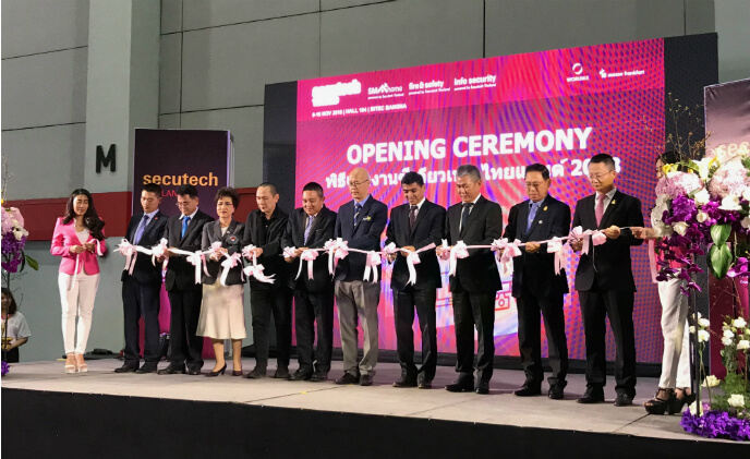 Secutech Thailand 2018 sets new record for exhibitor participation