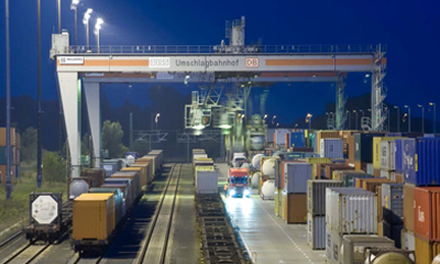 Bosch Communication Center protects rail freight goods for DB Schenker