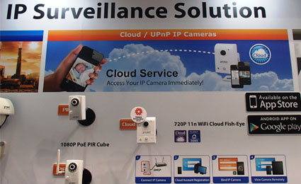 [SMAhome Int'l Exhibition] PLANET integrates IP telephon into home surveillance