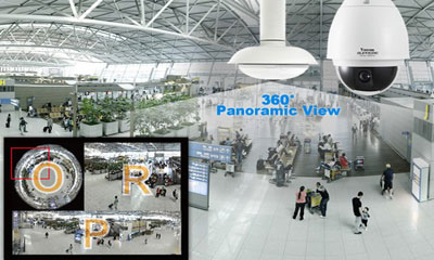 VIVOTEK launches seamless 360° panoramic PTZ system