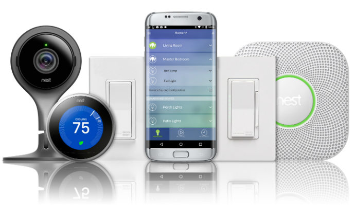 Leviton integrates with Nest Thermostat and Nest Cam to automate light control