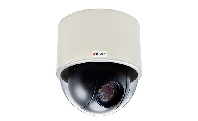 ACTi release new indoor speed dome camera