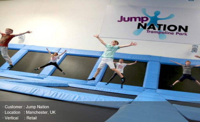 Hanwha Techwin reaches new heights at Jump Nation