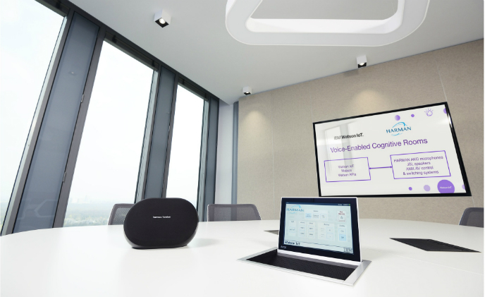 Harman debuts voice-control cognitive rooms powered by IBM's IoT service