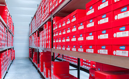 Dutch footwear brand Wolky attaches Nedap RFID label