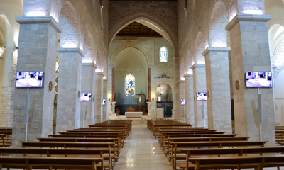 Italian cathedral protects premises and relics with IP video