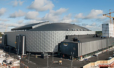 New Swedish national arena locks threats out