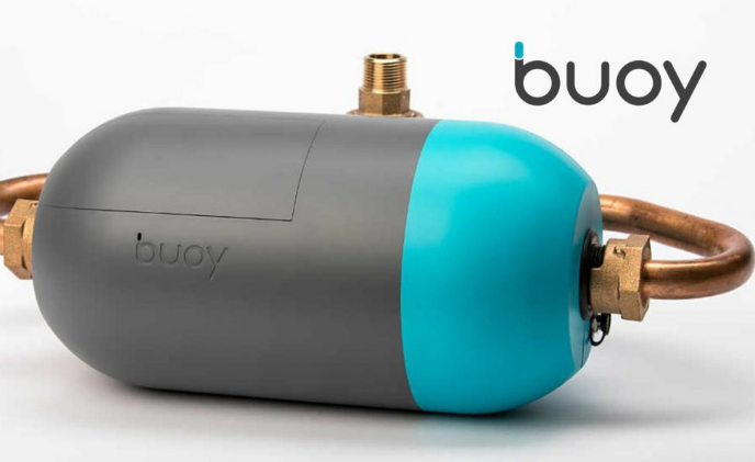 Buoy's US$799 water monitor can differentiate shower from flushing toilet by water flow