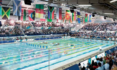 Scottish swimming center upgrades access control infrastructure for international games
