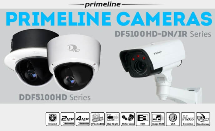 Dallmeier presents Primeline camera series for day and night operation