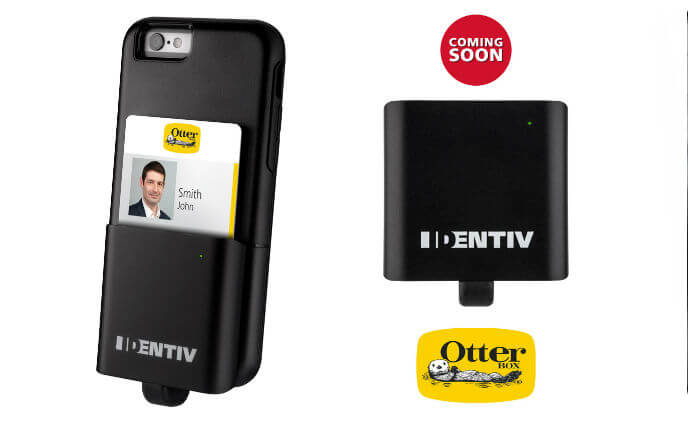 Identiv launches iOS smart card reader designed for OtterBox uniVERSE Case System