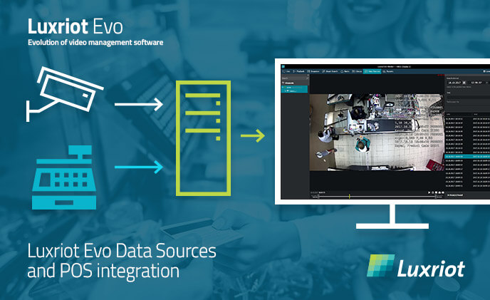 Luxriot EVO Data Source integration: POS and more