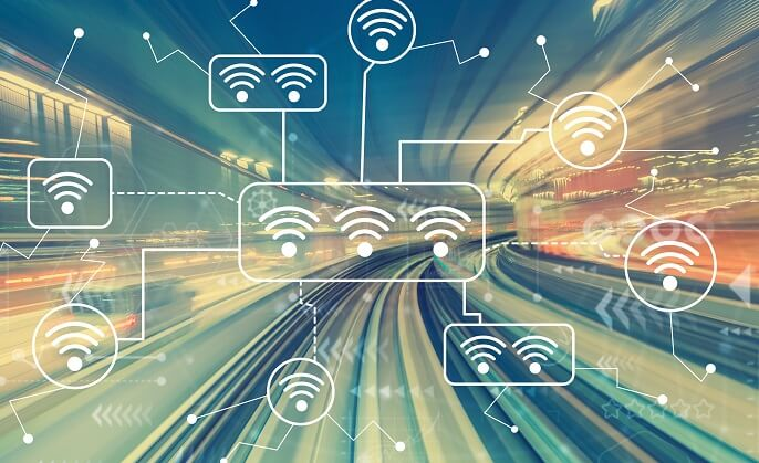 Key components of metro rail communications network