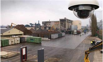Belgian Industrial Site Protected by Axis Network Cameras