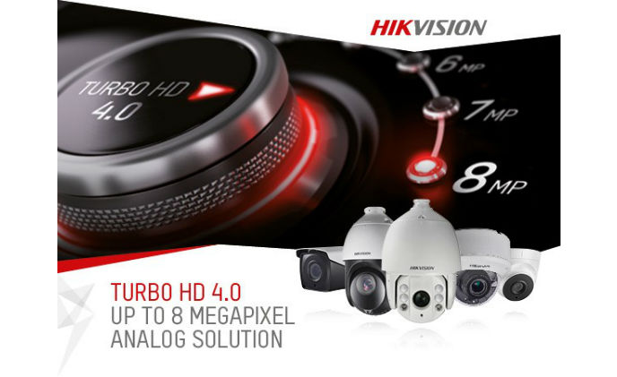 Hikvision's Turbo 4.0 delivers power and UHD 8MP video over coaxial cable