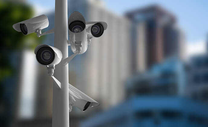 Both China and U.S. see rise in video surveillance cameras
