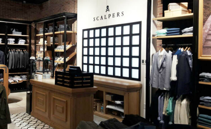 Fashion retailer Scalpers partners with Nedap for international RFID roll-out