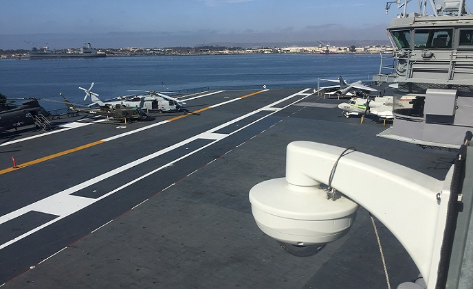 VIVOTEK delivers optimal security coverage at USS Midway Museum