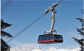 Axis Solution Secures Onboard Cable Cars in Italian Ski Resort