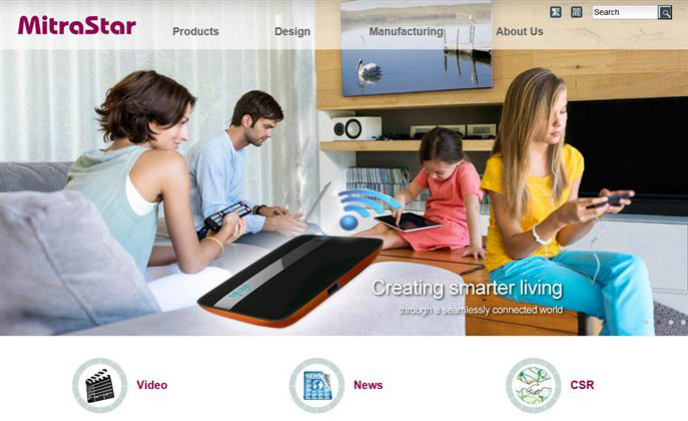 MitraStar Technology provides home multimedia solutions including gateway, STB and cloud storage