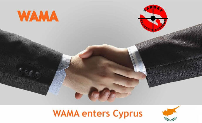 WAMA appoints Target Security Systems as distributor in Cyprus