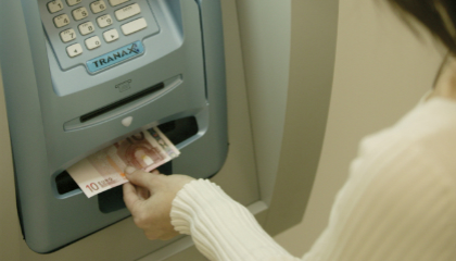 Indonesian bank deploys self-secured ATMs
