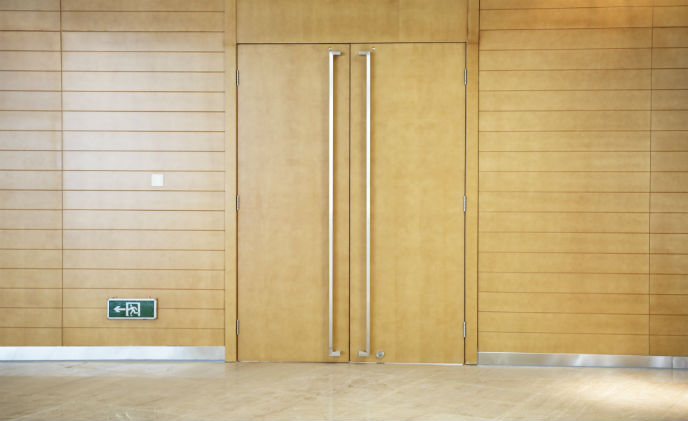 Assa Abloy Security Doors supplies state-of-the-art conference center