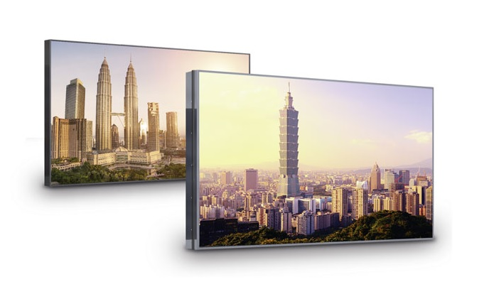 New video wall displays in eyevis' EYE-LCD range
