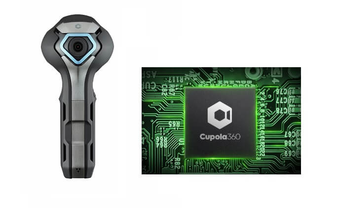 ASPEED Cupola360 spherical image processor and system